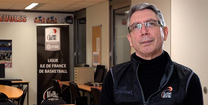 Marceau Durand, Président de la Ligue Ile de France de Basketball, adresse ses meilleurs voeux à l'ensemble du basketball francilien pour l'année 2021.