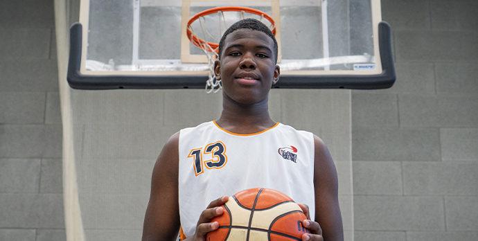 Victor Yimga-Mokouri (Levallois SC) fera partie des 5 potentiels franciliens à rejoindre l'INSEP et le Pôle France Basketball
