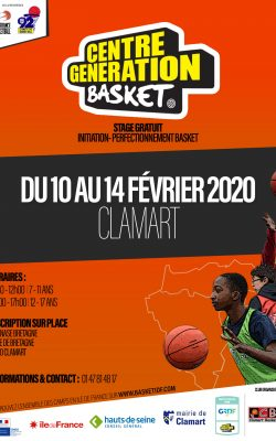 CENTRE GENERATION BASKET - CLAMART