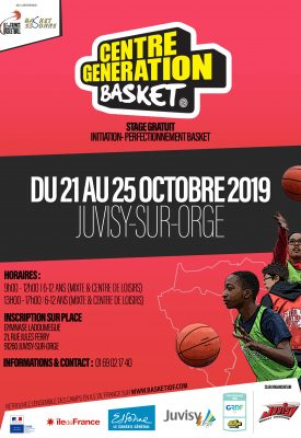 CENTRE GENERATION BASKET - JUVISY