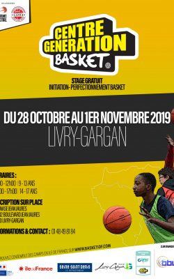CENTRE GENERATION BASKET - LIVRY GARGAN