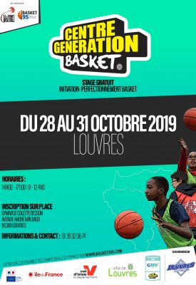 CENTRE GENERATION BASKET - LOUVRES