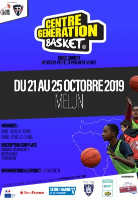 CENTRE GENERATION BASKET - MELUN