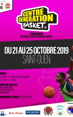CENTRE GENERATION BASKET - SAINT OUEN
