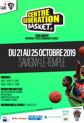 CENTRE GENERATION BASKET - SAVIGNY-LE-TEMPLE