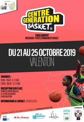 CENTRE GENERATION BASKET - VALENTON