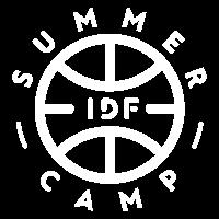 SUMMER CAMP rond blanc